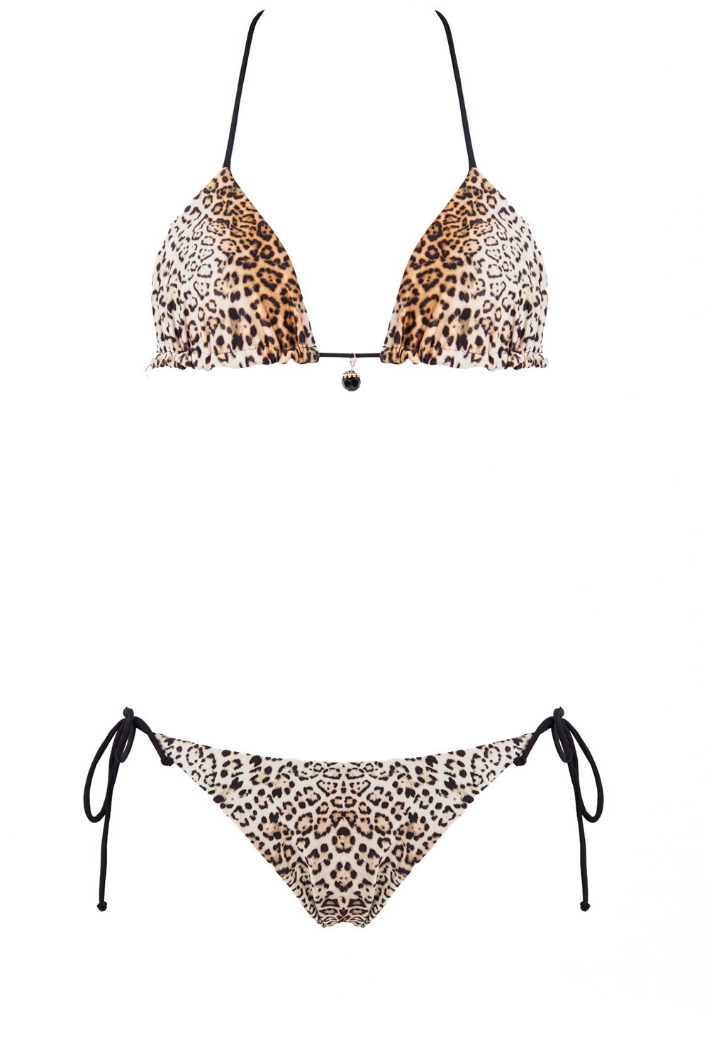 bikini beliza KATE triangle réversible léopard