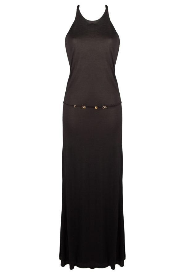 longue robe noire beliza