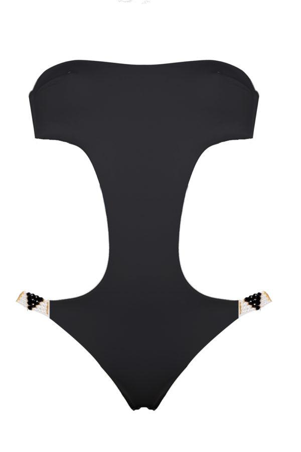 trikini beliza MONICA trikini sexy chic pearls black
