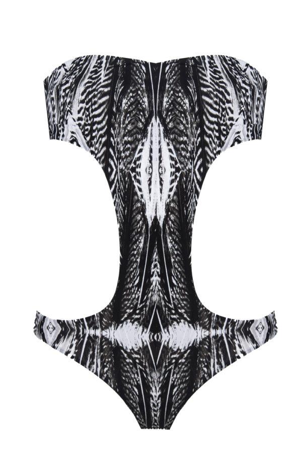 trikini beliza MONICA trikini sexy chic black white