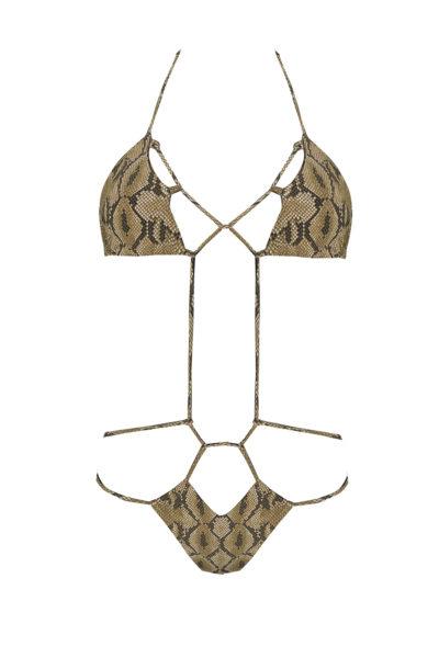 trikini beliza MARINA trikini sexy python