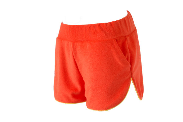 Enola Short Eponge Orange