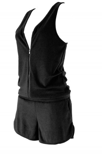 Enola Combi Short Eponge Noir