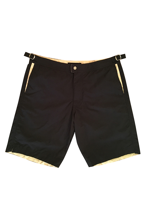 Collin short long black