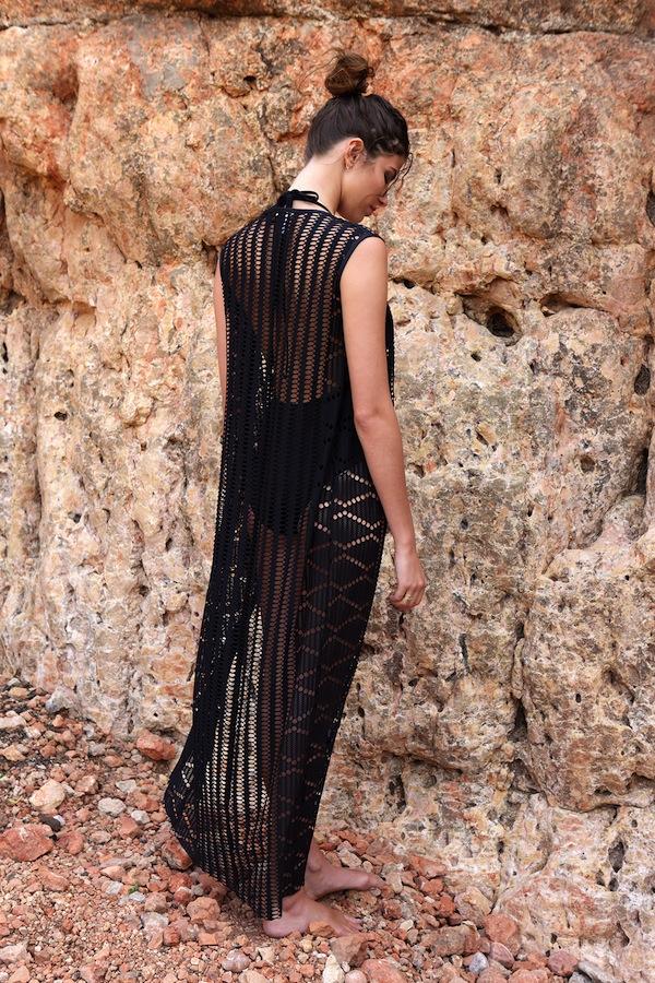 BELIZA-LONG-DRESS-V-CROCHET-BLACK