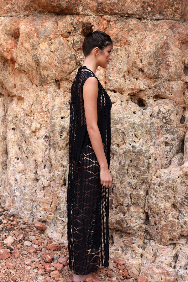 BELIZA-LONG-DRESS-V-CROCHET-BLACK
