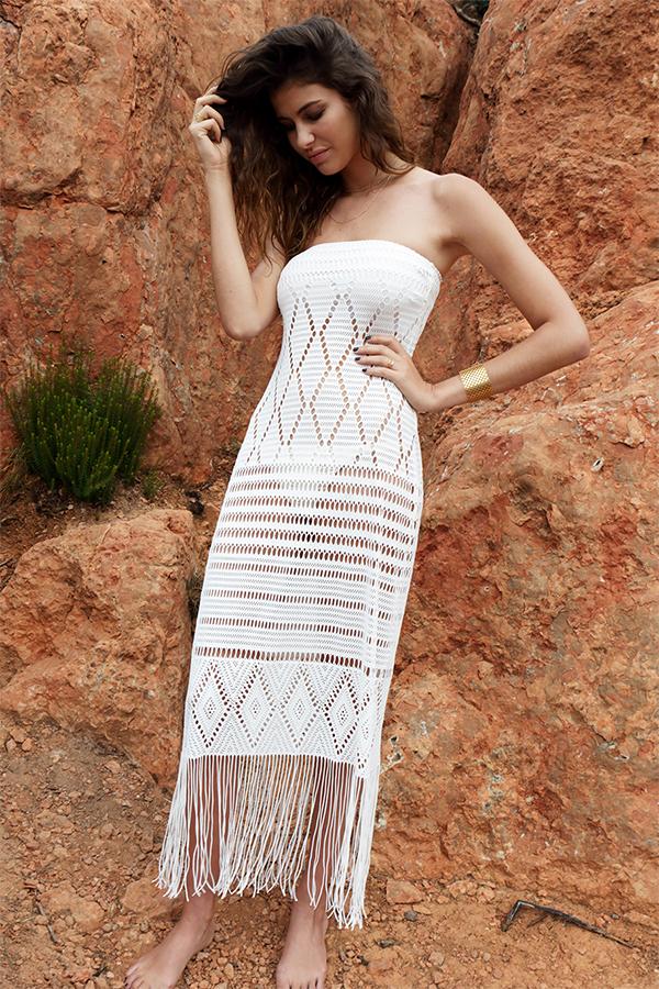 c5682efa5665e Robe Longue Bustier crochet black | Beliza swimwear Beachwear