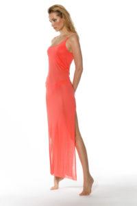 robe de plage couleur spritz fendue