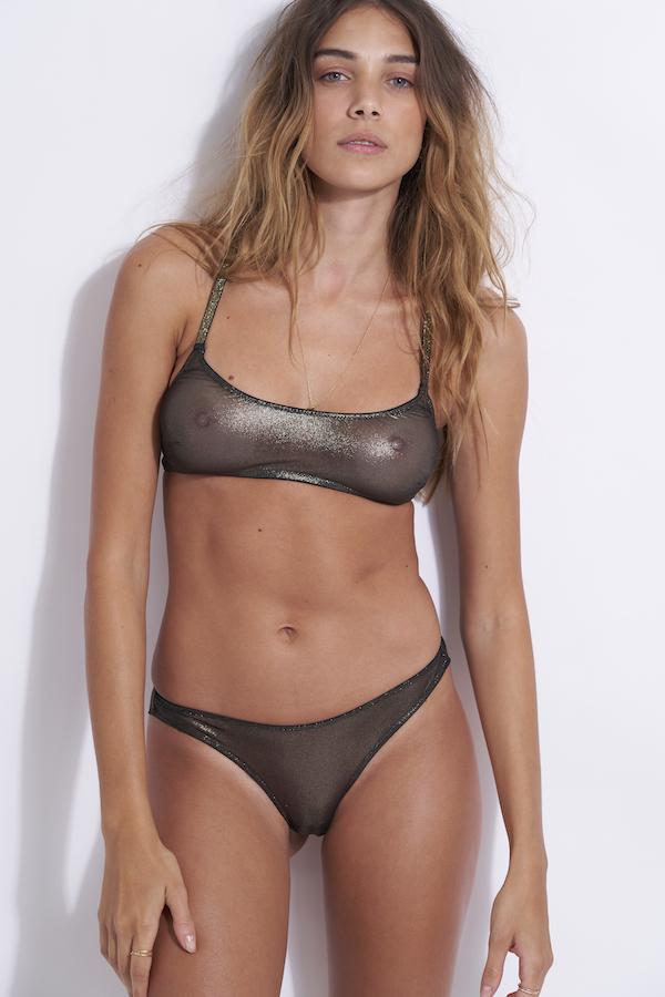 ensemble lingerie bronze